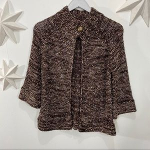 BCBG Max Azria loose knit cardigan sweater